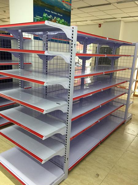 Cung cấp giá kệ chứa hàng hóa cho cửa hàng siêu thị