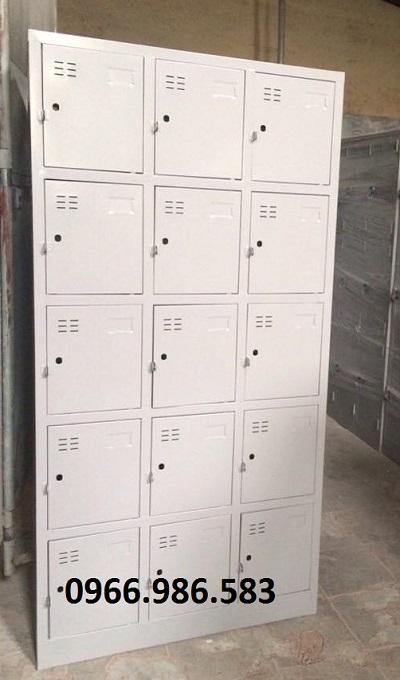 kệ siêu thị, Tủ sắt locker 15 ngăn