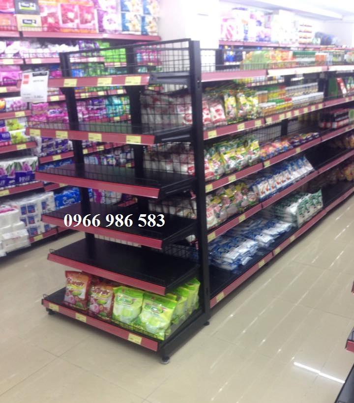 kệ siêu thị, Đầu kệ siêu thị màu đen
