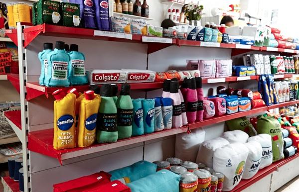 kệ siêu thị, Giá kệ để hàng cho cửa hàng tiện ích