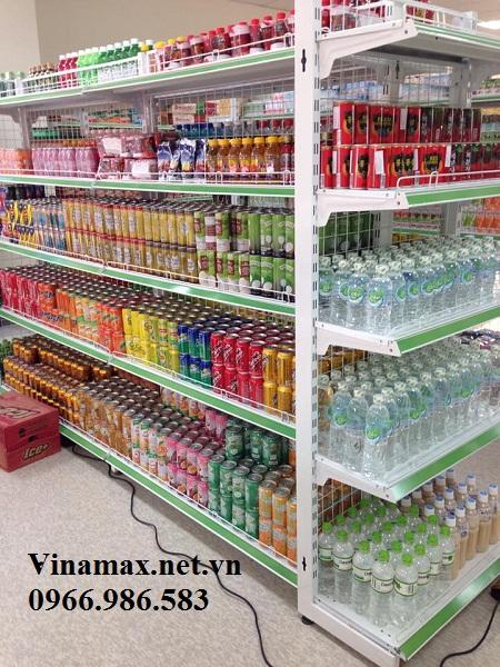 kệ siêu thị, Kệ sắt để đồ uống, nước ngọt