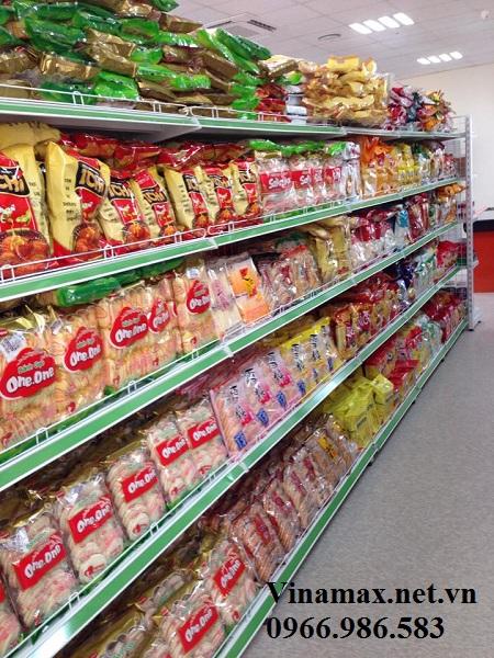 kệ siêu thị, Kệ siêu thị để bánh kẹo