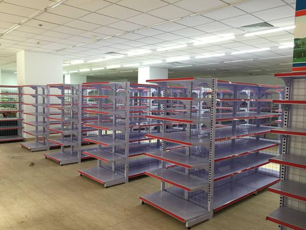 kệ siêu thị, Lắp ráp giá kệ siêu thị