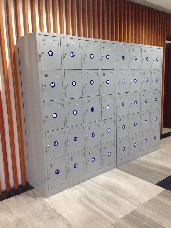 kệ siêu thị, Tủ locker 20 ngăn