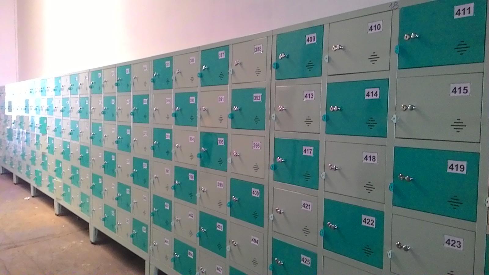 vinamax Thiết kế mẫu tủ locker dành cho học sinh