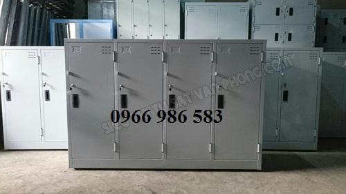 tủ sắt locker loại 4 cánh tại bắc giang