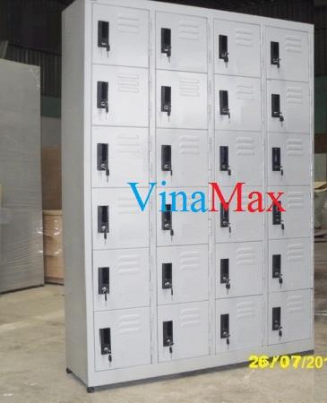Thiết bị tủ sắt locker siêu thị tại vinamax