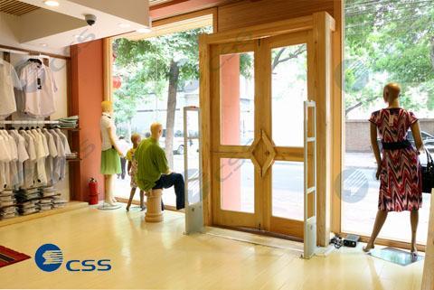 cổng từ chống trộm shop thời trang, cổng từ an ninh