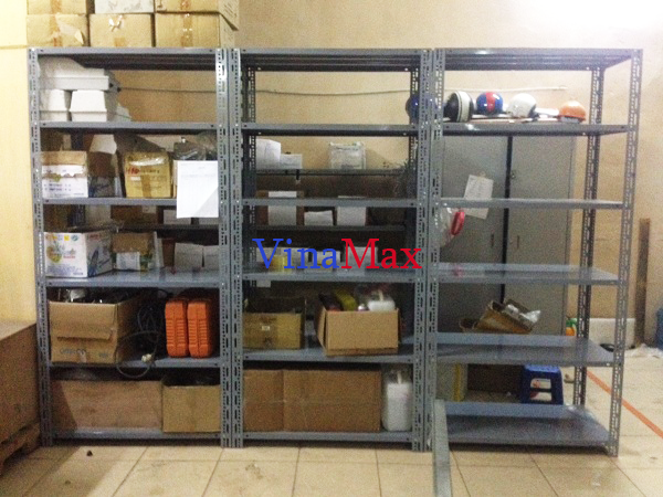Lắp đặt kệ kho chứa hàng tại tòa nhà Hàn Việt 203 Minh Khai, Hà Nội 1