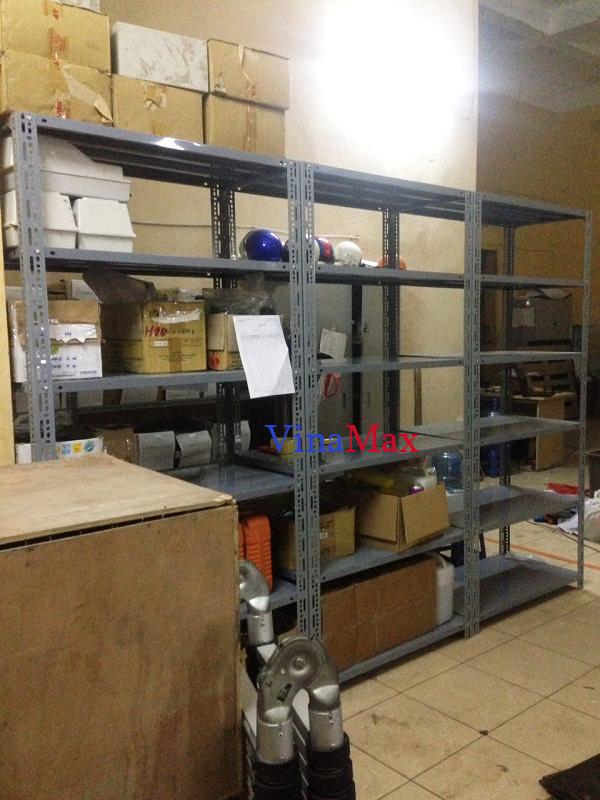 Lắp đặt kệ kho chứa hàng tại tòa nhà Hàn Việt 203 Minh Khai, Hà Nội 3