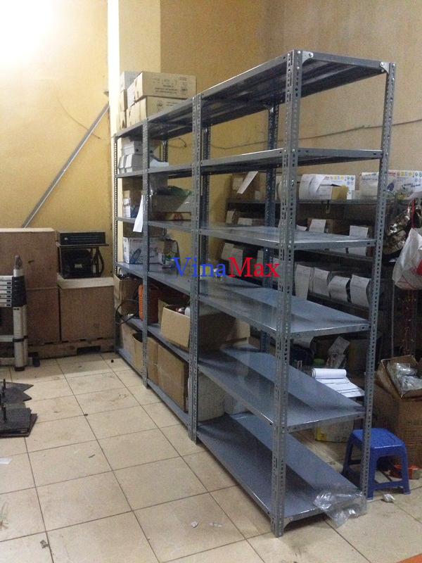 Lắp đặt kệ kho chứa hàng tại tòa nhà Hàn Việt 203 Minh Khai, Hà Nội 2